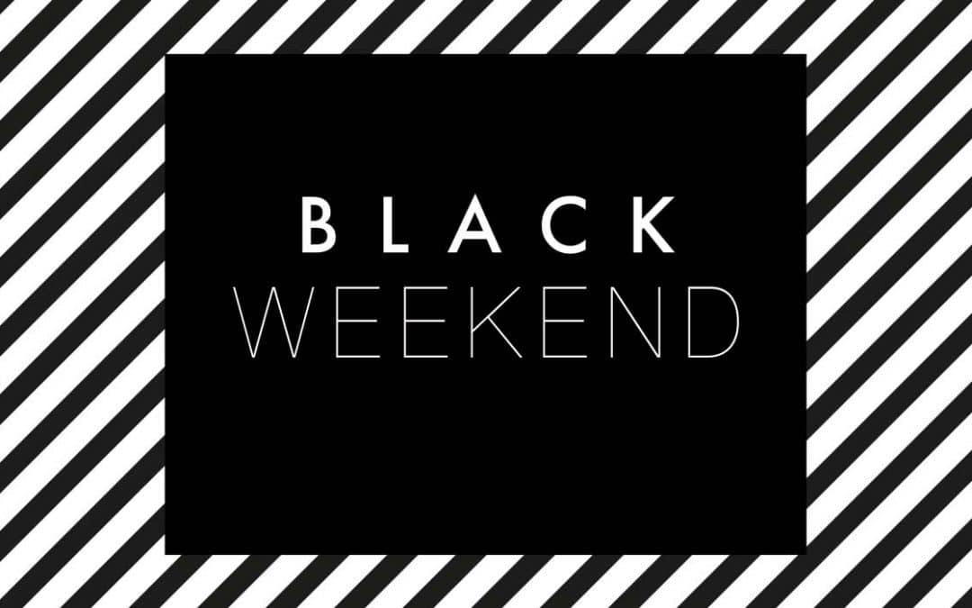 BLACK WEEKEND: Die besten Angebote auf einen Blick!
