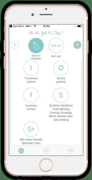 Neome-Eingabe-Zervixschleim