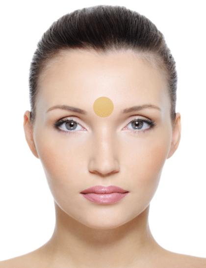 Skin Mapping Augenbrauen