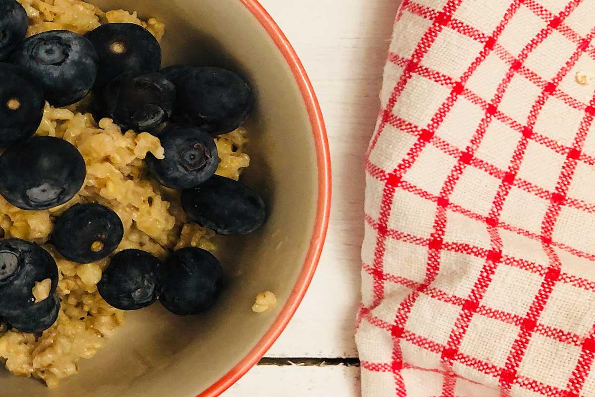 Rezept: Einfaches Porridge 3