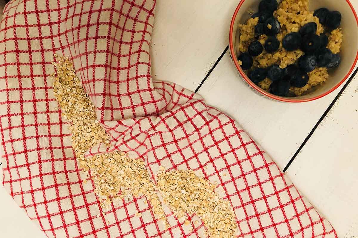 Rezept: Einfaches Porridge 2