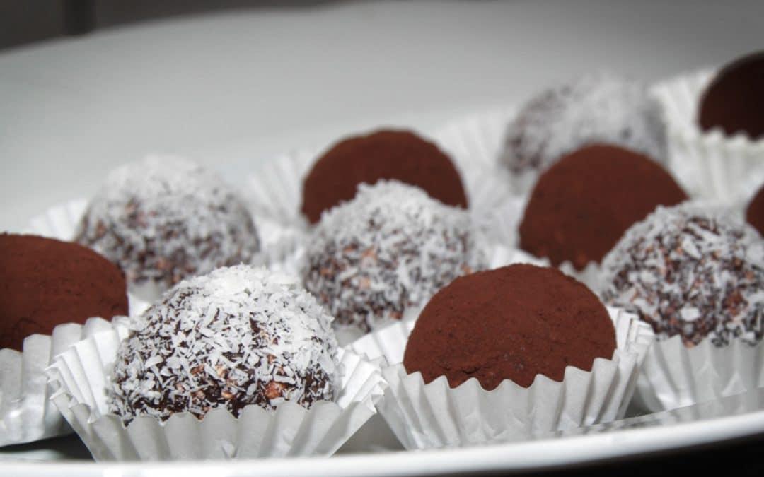Rezept: Brownie Bites ohne Zucker